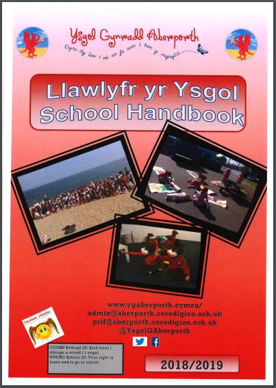 school handbook 2018-19